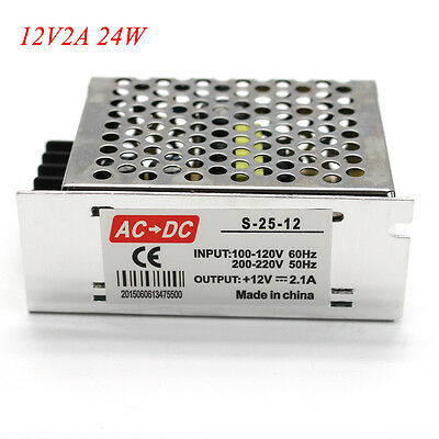 AC110V/220V TO DC 12V 1A 2A 10A 15A 20A 30A 40A Transformer Power Supply Adapter