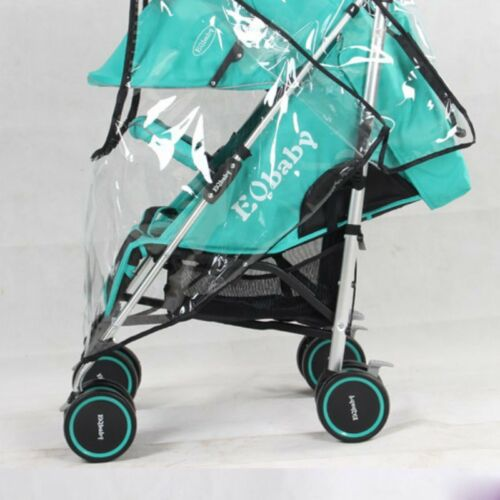 Universal Pushchair Buggy Stroller Rain Cover Baby Pram Wind Shield Protector