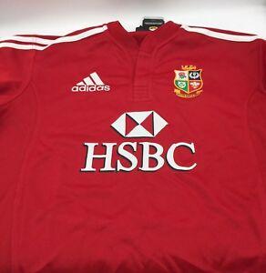 Détails sur Nouveau Adidas Officielle Réplique Rugby Chemise de The British & Irlandais