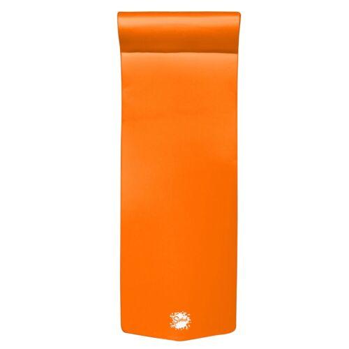 Orange Breeze TRC Recreation Splash 70 Inch Foam Raft Lounger Pool Lake Float