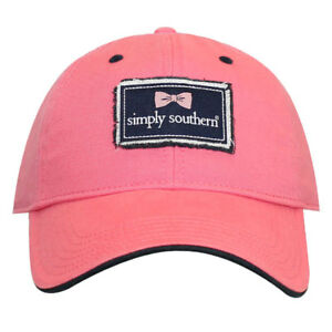 91587095ed5 Image is loading Preppy-Ladies-Ball-or-Golf-Hats-by-Simply-