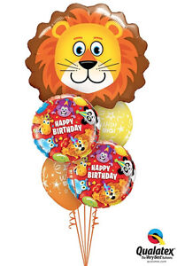 LION-BALLOON-BOUQUET-5-X-QUALATEX-JUNGLE-HAPPY-BIRTHDAY-BOUQUET
