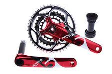 MOWA Five Mountain XC AM FR Bike Triple Cycling Crankset 44/32/22t 175mm Red