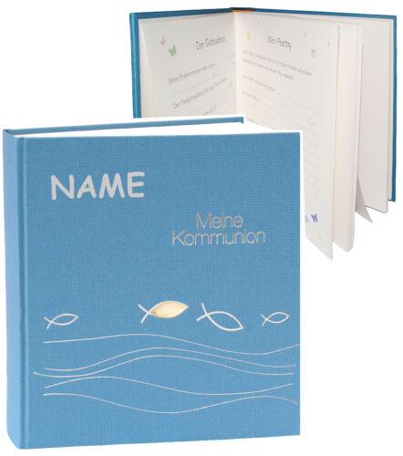 "Name /"" meine Kommunion /"" Kommunionsalbum // Fotoalbum incl Album // Fotobuc"