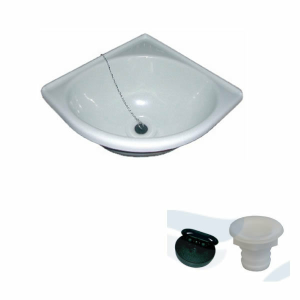 SINK PVC ANGLE 280 X 11 1 32in WITH BONDE RIGHT