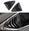For LEXUS IS300 200t 250 2013-2019 Carbon fiber Rear Side Window Shutters Frame
