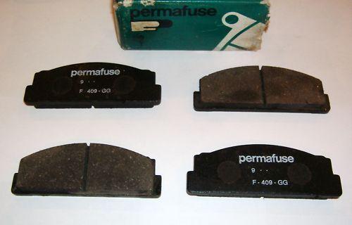 FIAT 125 BN// PASTIGLIE FRENO// BRAKE PADS