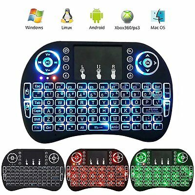 Black Wireless Mini Keyboard /& Mouse Easy Remote Control for Samsung LG 55LJ625V 55 Smart TV
