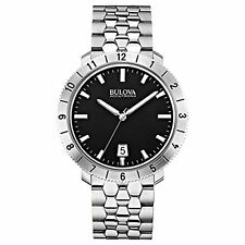 Bulova Accutron II Men's - 96B207 Black Dial Stainless Steel Watch