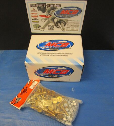 """WOODY/'S 96 PACK TRACTION MASTER GOLD DIGGER STUDS 1.325/"""" W 1//2 TALL LARGE NUTS"""
