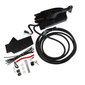 details about 881170a15 side mount remote control box for mercury outboard engine push