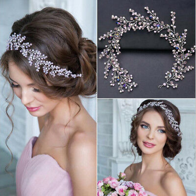 Bouquant Branch Bride Wedding Headdress