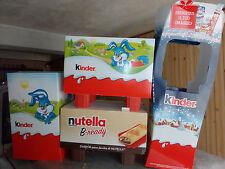 Cartonati espositori Nutella e Kinder