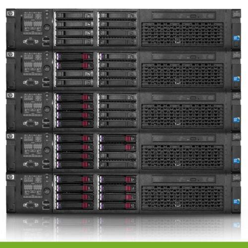 HP Proliant DL380 G7 Virtualization Server 12-Cores 32GB RAM 2x 146GB Rails