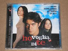 HO VOGLIA DI TE: COLONNA SONORA (IVAN IUSCO, TIZIANO FERRO, IGGY POP) - CD