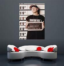 EMINEM RAP Slim Shady Marshall Mathers Poster Gigante stampa z082