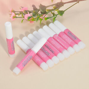 10pcs-Professional-Manicure-Nail-Art-Glue-Acrylic-Nail-Tips-Decor-Supplies-Glue