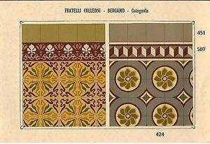 Stampa antica piastrelle per pavimenti mattonelle cod old