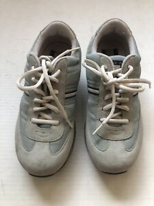 Details about Tommy Hilfiger Shoes Women 7M Blue Suede Sneakers