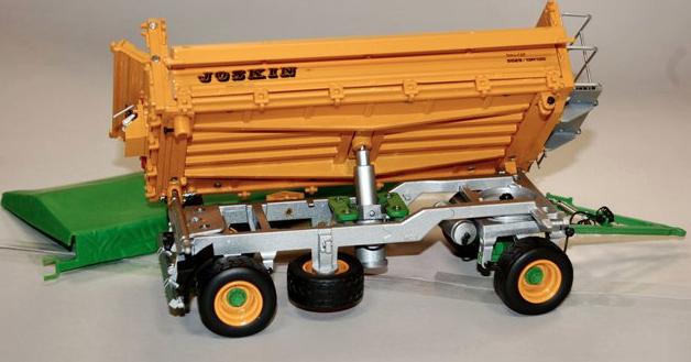 Ros 60221 échelle 1:32 JOSKIN côté côté côté basculante 2 essieux couvert remorque | De Haute Qualité  e00d96