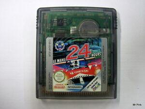 LE-MANS-24-HOURS-Le-Mans-24-Ore-Game-Boy-Color-Nintendo-Pal-Infogrames-Used