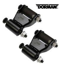 Pair Dorman 722-020 Rear Position Leaf Spring Shackle Kit - fits 97-11 Dakota/ 0