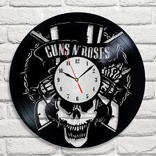 GUNS N'Roses Band Design Vinile Record Orologio Home Decor Art hobby Shop Office 2