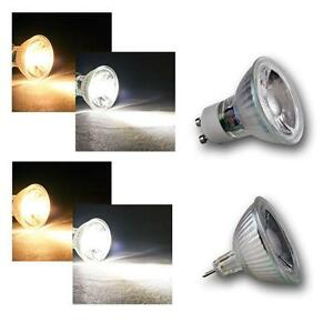2 X Tiltable GU10 MR16 E27 E14 B22 GU5.3 G4 LED Spotlight Downlight Bulb Fixture