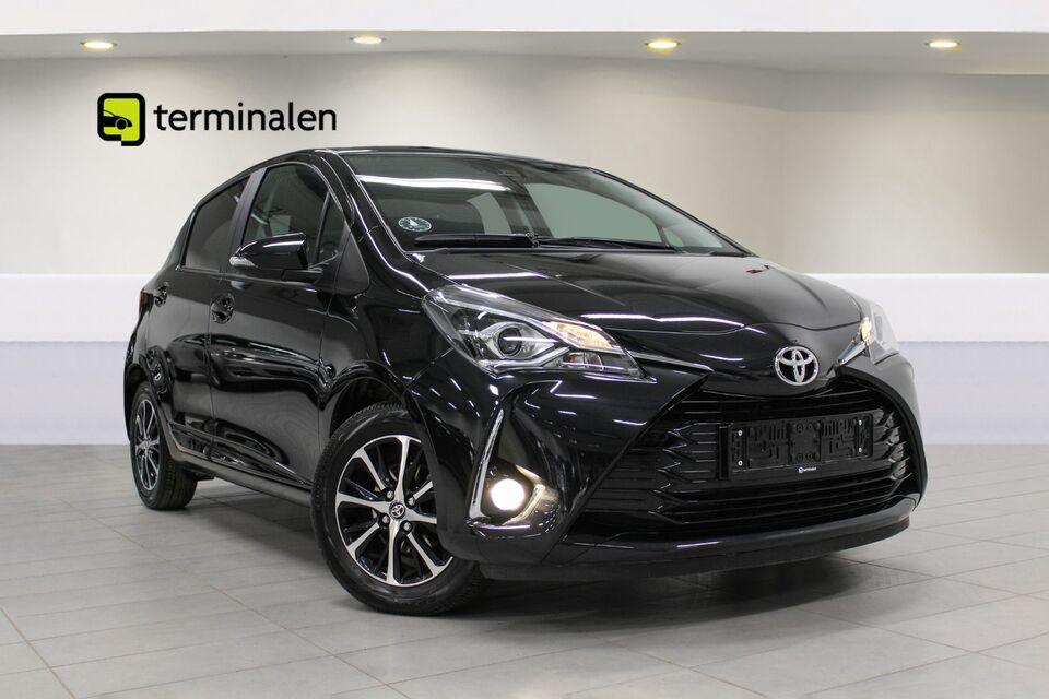 Toyota Yaris 1,0 VVT-i T3 Benzin modelår 2019 km 5000