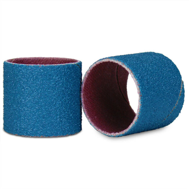 """50 Grit FREE SHIPPING! 100 Merit 7//8/"""" X 1/"""" Spiral Wound Bands"""
