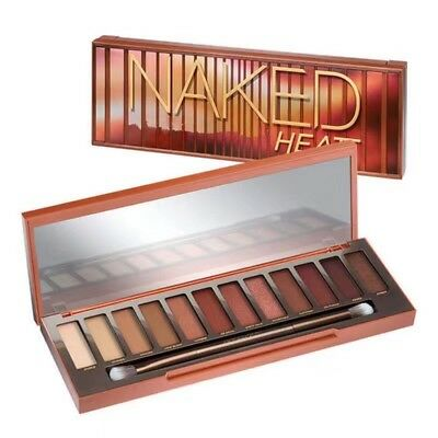 Hot 12 Color Urban Decay Naked Heat Eyeshadow Palette Make Up - High Quality