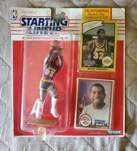 1990 Magic Johnson Basketball Starting Lineup Figure Unopened LA Lakers HOF