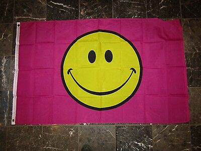 3x5 Advertising Now Leasing Smiley Face Flag 3/'x5/' Banner Brass Grommets