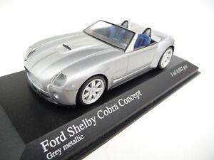 Minichamps 1:43 Ford Shelby Cobra Concept 2004 Gris métallisé 146430