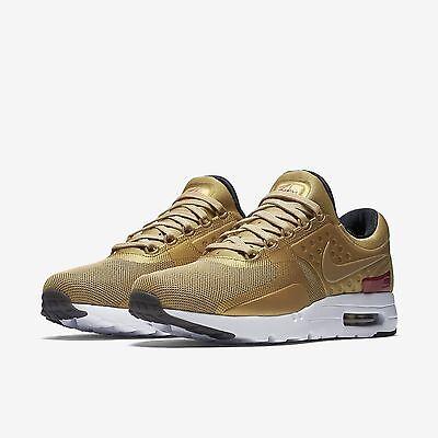 Nike Damen NIKE AIR MAX ZERO QS 863700 700 Gold ,Rot