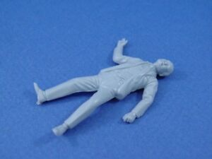 MARX-UNTOUCHABLES-PLAYSET-DEAD-GANGSTER-RECAST-FIGURE-1-32-GRAY-TV-SERIES