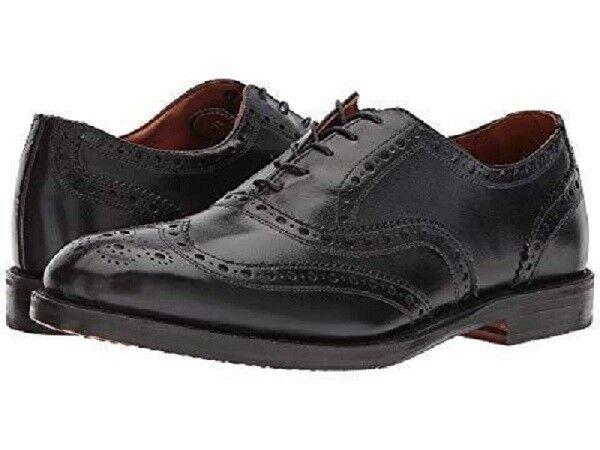Allen Edmonds Men's Whitney Wingtip US 10 D Black Leather Oxfords shoes  425.00