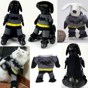 Image is loading Pet-Cat-Dog-Puppy-Cotton-Clothes-Funny-Costume- & Pet Cat Dog Puppy Cotton Clothes Funny Costume Outfit Jumpsuit ...