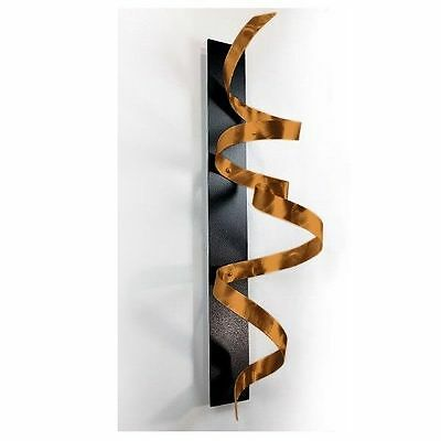 Modern Abstract Metal Wall Art Home Decor Sculpture - Copper Knight by Jon Allen
