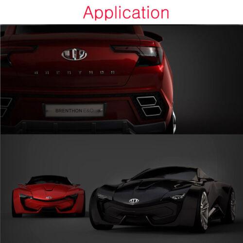 Fit: Kia 2009-2013 Forte Sedan Cerato Brenthon Emblem 7Pcs Set Type 2