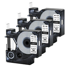 3pk For Dymo Rhino 42005200 Heat Shrink Tube 18051 Industry Label Tape 14x5