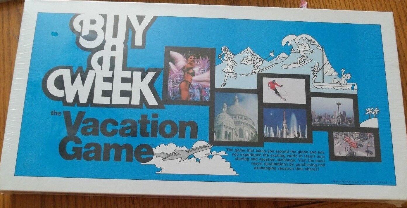 marca de lujo Comprar una una una semana  el juego de vacaciones 1981 Nuevo y Sellado muy difícil de encontrar  de moda