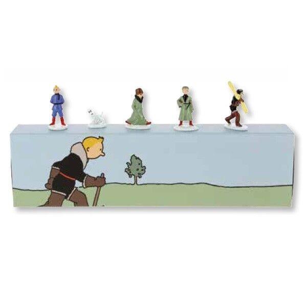 Hergé Tintin – Figurines Mini série – Tintin au pays des Soviets couleurs