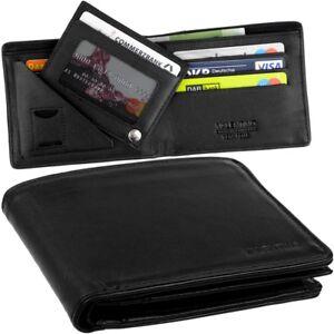 VALENTINO-Herren-Geldboerse-ohne-Muenzfach-Kreditkartenetui-extra-Kartenetui