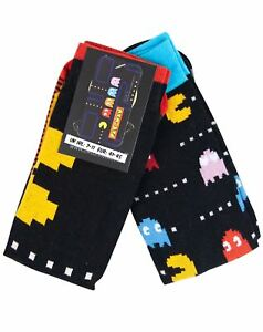 Pac-Man-Arcade-Game-Men-039-s-2-Pack-Socks