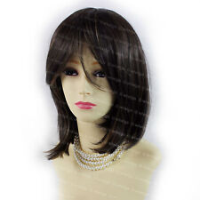 Wiwigs Gorgeous Short Bob Black Brown & Strawberry Blonde Mix Ladies Wig