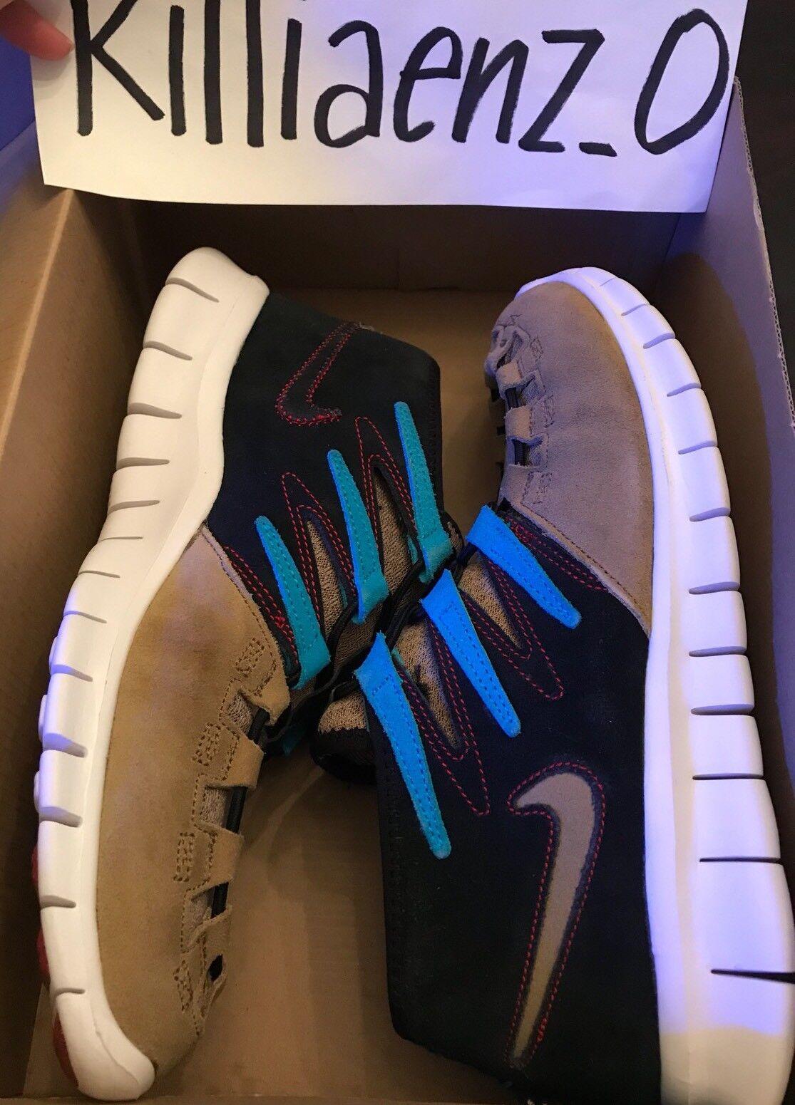 Men's Nike free forward moc+ N7 size 9 RARE shoe Pre-Owned 543539-224