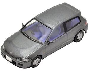 Tomytec-Tomica-Limited-Vintage-Neo-LV-N48f-HONDA-Civic-SiR-2-Gray-New-Japan