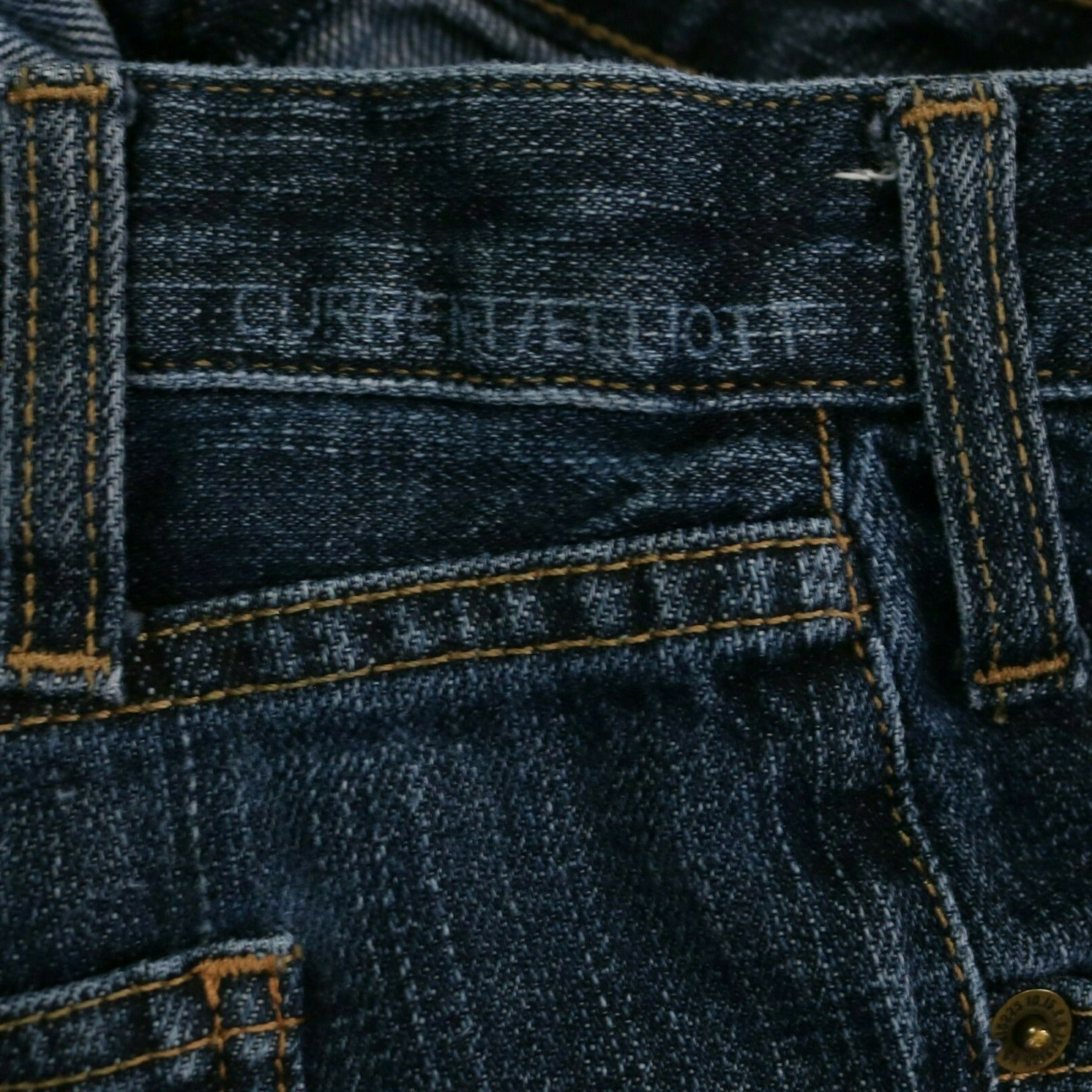 Current/Elliott The Roller 1950s Hoodlum Jeans Ra… - image 4