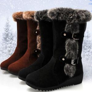 Womens Flat Winter Boots